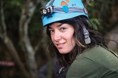 Alia Gurtov - one of the six female anthropologists chosen to make the difficult descent into the cavern where the bones of Homo naledi were found in South Africa. University of Wisconsin Alumni magazine http://onwisconsin.uwalumni.com/features/chamberof-discovery/