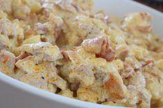 Krämig blomkålsgratäng med bacon - Jennys matblogg
