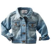 Hello, darling in denim. This jacket keeps her comfy on cooler days and nights. Roll up the sleeves for a super cool look.