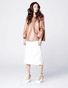 "Photos: HQ Pics of Chic Goddess Sandara Park for Elle magazine, March Issue – ""Say My Name"" Kpop Fashion, Korean Fashion, Moda Kpop, Kdrama, 2ne1 Dara, Kpop Girl Bands, Editorial, Sandara Park, Elle Magazine"