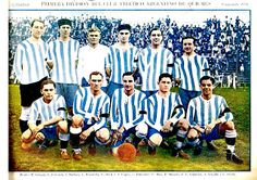 EQUIPOS DE FÚTBOL: ARGENTINO DE QUILMES 1928