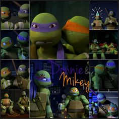 Donnie and Mikey