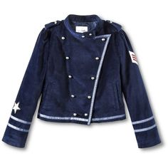Annie for Target Girls' Band Jacket ($25) ❤ liked on Polyvore featuring jackets