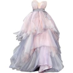 edited by Satinee - Dream gowns collection ❤ liked on Polyvore featuring dresses, gowns, vestidos, long dresses, pink evening dress, pink gown, pink evening gowns and long pink dress
