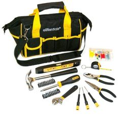 Great Neck 31Pc Essentials Around the House Tool Set w/Bag
