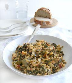 Yummy Veggie, Veggie Recipes, Real Food Recipes, Healthy Recipes, Veggie Food, Minis, Spanish Kitchen, Good Food, Yummy Food