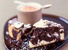 Découvrez la recette Gâteau marbré chocolat-noix de coco sur cuisineactuelle.fr.