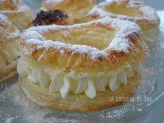 Es un pastel típico de la cocina catalana, de una gran sencillez en su preparación y de bonita presentación. Cuando lo vi era mucha la te...