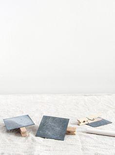 SUPPLY PAPER CO. | zinc square peg label