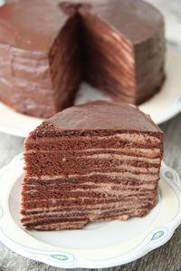 Schoko-Schicht-Kuchen   ZuckerkuchenEule: Prinz von Zamunda - Torte