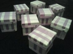 Wedding Party customized gift boxes
