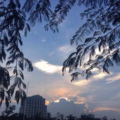 Sunset in Medan