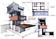 Interesting Find A Career In Architecture Ideas. Admirable Find A Career In Architecture Ideas. Sketchbook Architecture, Plans Architecture, Architecture Portfolio, Concept Architecture, Landscape Architecture, Interior Architecture, Container Architecture, Architecture Diagrams, Portfolio D'architecture