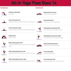 All-in Yoga pose base page 14