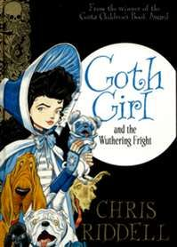 """Goth Girl and the Wuthering Fright by Chris Riddell. We adore the illustrations throughout the """"Goth Girl"""" books and the quirky almost Hammer Horror humour. Chris Riddell's series for girls aged 9+ are beautifully packaged and a must read for those kids who prefer something slightly different to the norm. Highly recommended."""