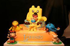 Nick Jr Cartoon Cake /Lorenzo Cake 2nd bd - Wubbzy/Moose A Moose and Zee/Ming Ming/oswald and weenie/Kilan and Hoho