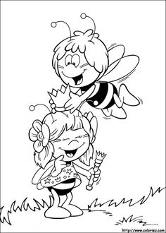 Maya the Bee coloring picture