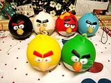 Angry bird squishies.