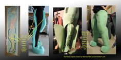 Xerneas Cosplay Leg Tutorial by RawrsuitGirl on DeviantArt
