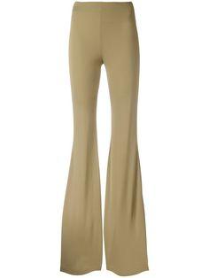 Купить Plein Sud расклешенные брюки с эластичным поясом.