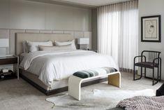 Elizabeth Metcalfe Interiors & Design Inc. - Master Bedroom at our Toronto Penthouse Condo Renovation