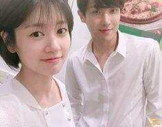 [Drama My Father is Strange 아버지가 이상해 Korean Celebrity Couples, Korean Celebrities, Korean Actors, Young Actresses, Actors & Actresses, Korean Drama 2017, Playful Kiss, Jung So Min, Kdrama Actors