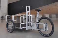 cargo bike pictures | On a roll: Euro Cargo bikes mix art, sustainability