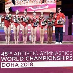 Gymnastics World, Artistic Gymnastics, Olympic Gymnastics, Madison Kocian, Laurie Hernandez, Gymnastics Pictures, Simone Biles, Gabby Douglas, Aly Raisman