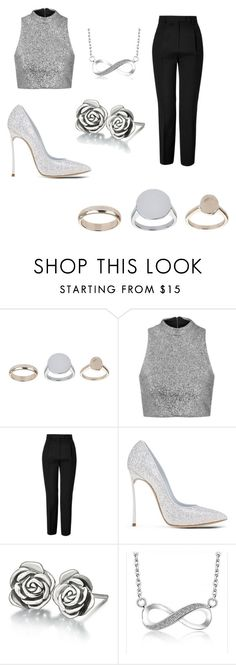 """perfect"" by feedbacker1 ❤ liked on Polyvore featuring Topshop, Emilio Pucci, Casadei and Chamilia"