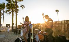 We played at The  Champion of Youth Gala for The Boys & Girls Club of Venice. Beautiful evening in the sand, under the stars. Photo by Venice Paparazzi.