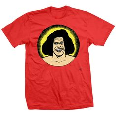 Andre The Giant T-shirts Licensed By Andre's Family - The Boss T-shirt Andre The Giant, Boss, Mens Tops, T Shirt, Stuff To Buy, Clothes, Supreme T Shirt, Outfits, Tee
