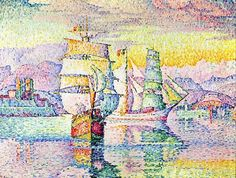 Paul Signac.Antibes