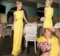 gorgeus... yellow.... chic