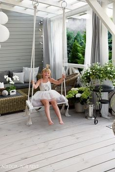 My home - My place: relax . we are swinging :)- Mój dom – Moje miejsce: relaks…………huśtamy się 🙂 My home – My place: relax ………… we are swinging :] - Backyard Patio Designs, Pergola Patio, Pergola Plans, Backyard Landscaping, Pergola Kits, Small Terrace, Terrace Garden, Small Patio, Outdoor Rooms