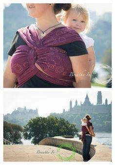 Ottawa Babywearing Group: Taming The Beast... Breaking In A Beauty (breaking in a linen wrap)
