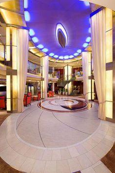 Celebrity Solstice Cruises: Entertainment Court #cruiseshipcelebrityeclipse Best Cruise, Cruise Vacation, Vacations, Celebrity Cruises Solstice, Celebrity Cruise Ships, New Zealand Cruises, Celebrity Eclipse, Cruise Insurance, Hawaiian Cruises