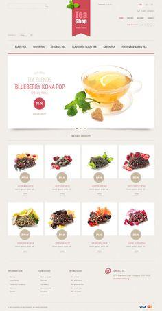 Prestashop template #organic #bio #ecommerce