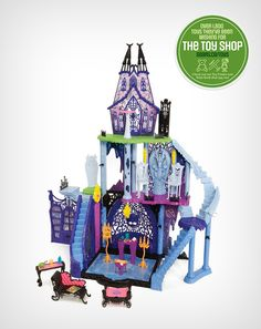 The Monster High 'Catacombs' play set is the perfect place for your child and her friends to haunt Doll Furniture, Online Furniture, Canada Shopping, Dream House Interior, Catacombs, Monster High Dolls, Dream Houses, Perfect Place, Aurora
