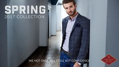 The Suit Shop Co. offers suits for weddings, business or any social event. Made To Measure Suits, Suit Shop, Social Events, Wedding Suits, Custom Shirts, Ready To Wear, Suit Jacket, Menswear, Coat