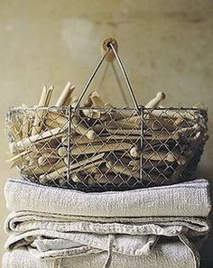 Need a basket of these for nostalgia,  for decoration...for practicality