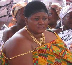 Mamponhemaa, Queen Mother of Mampong, Nana Agyakomaa Dufie II.