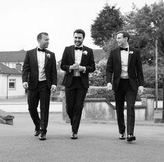 #wedding #tuxedo #groom #bestman #groomsman #clairebaker #juliecumminsphotography