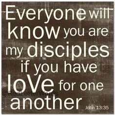 redletterwords - John 13:35, $49.00 (http://www.redletterwords.com/john-13-35/)