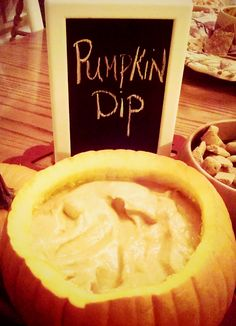 This pumpkin dip recipe is the perfect addition to any fall party. So simple - and so good!