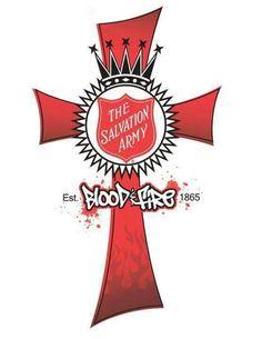 Blood & Fire cross