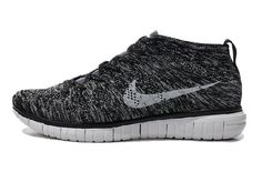 cheap for discount 5b55d 09a1e Buy Mens Nike Free Flyknit Chukka Running Shoes Black Gray from Reliable  Mens Nike Free Flyknit Chukka Running Shoes Black Gray suppliers.