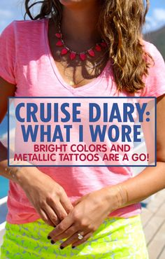 What do you wear in the Caribbean? Well, here's a little fashion inspiration that'll have you island ready in no time. Carnival Inspiration, Fashion Inspiration, Punta Cana, Cruise Outfits Carnival, Bachelorette Cruise, Martin St, Cruise Vacation, Vacation Ideas, Metal Tattoo
