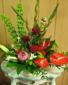 Exotic Anturnium Flower Arrangement