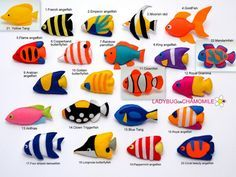 WWW.LADYBUGONCHAMOMILE.COM 10% OFF YOUR PURCHASE OF 99 $ OR MORE! Use code LADYBUG333 at checkout. Cute sea fishes collection! Great Barrier