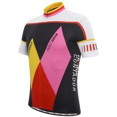 Zero RH + RHX Due Alberto Contador L.E. Jersey - Men's